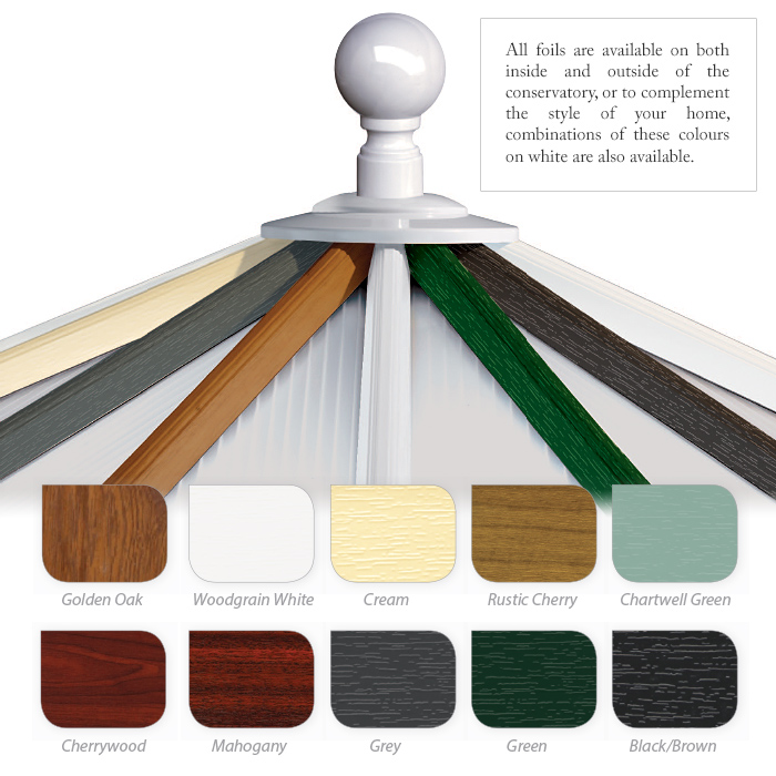 Conservatory Colours and Finishes